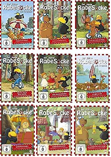 Der kleine Rabe Socke - Die TV-Serie 1-9 (9 DVDs)