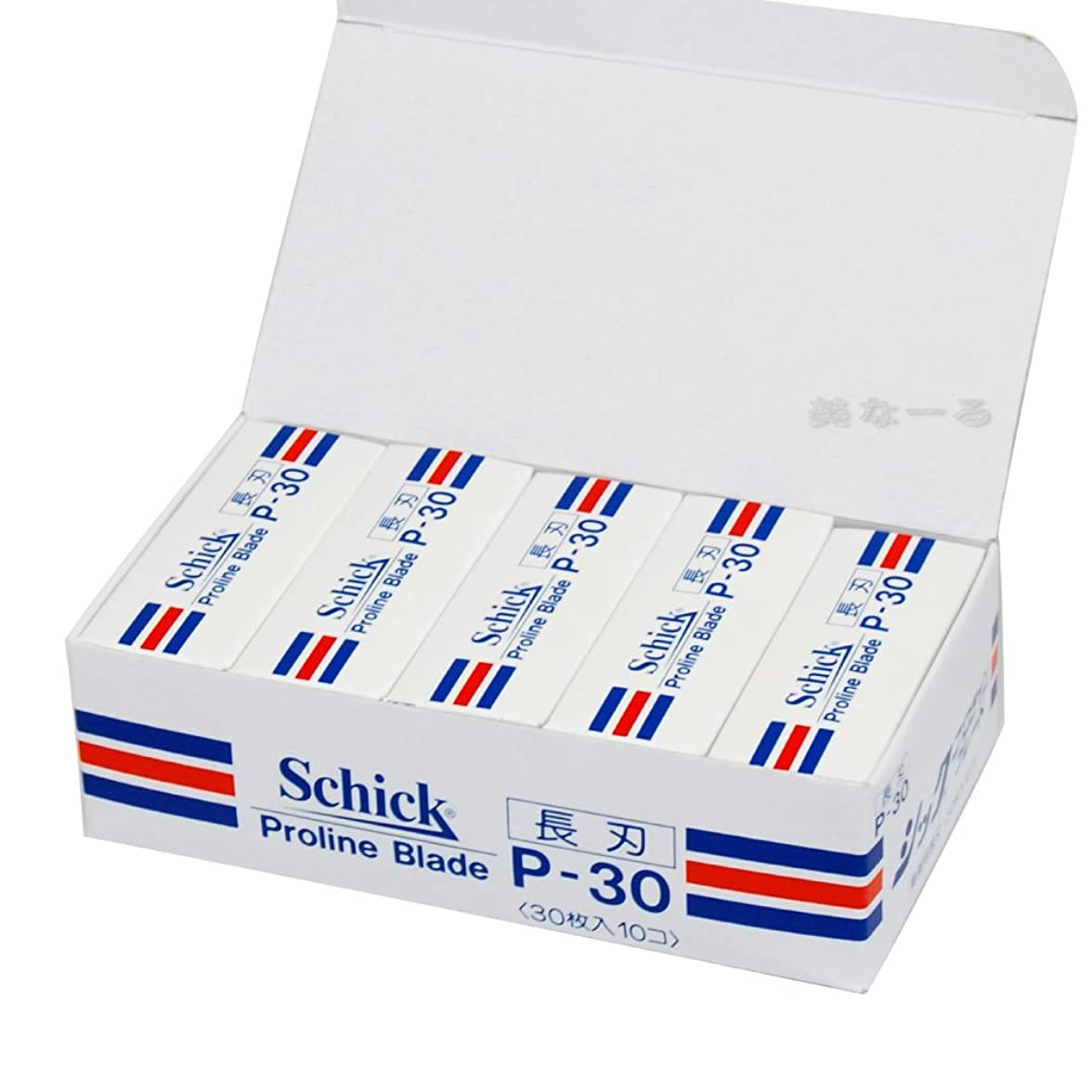 肌寒いヒロイン原点シック-P30 長刃 替刃30枚入×10個