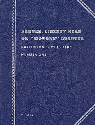 1892-1905-Barber-Liberty-Head-Morgan-Quarter-Whitman-No-9015-trifold-Coin-album-binder-book-card-collection-folder-holder-page-portfolio-publication-set-volume