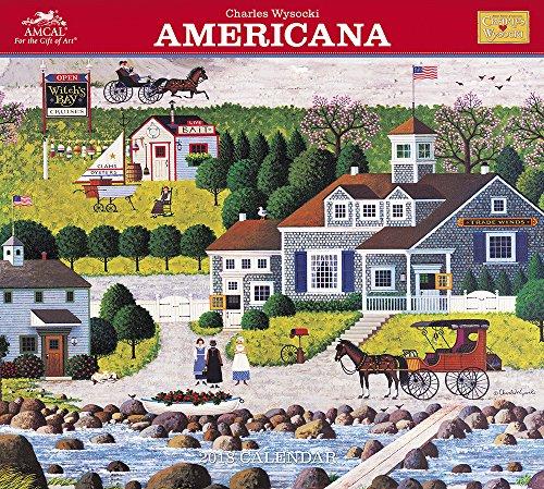 Charles Wysocki Americana 2018 Calendar: With Envelope