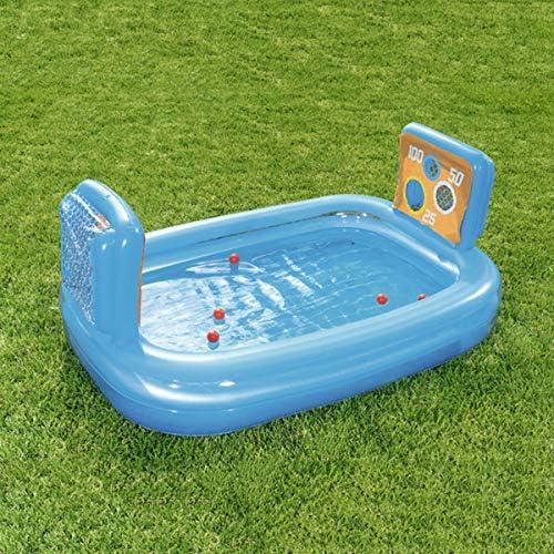 Babyschwimmbad Dickes Planschbecken, Aufblasbare Spielzeuge Des Fußballpools Aufblasbare Wasserballkinder, Babygeschenke -237  152  94cm