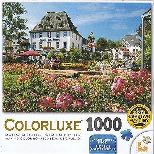 conveniente Colorluxe 1000 Piece Piece Piece Puzzle - Market Square by LPF by LPF  El ultimo 2018