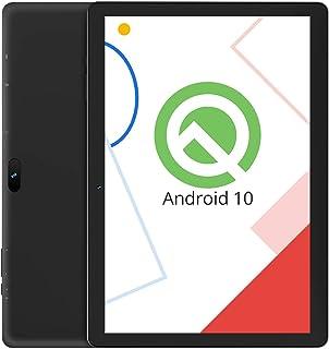 VUCATIMES N10 10-Inch Tablet, Android 10.0, 32GB Storage, A53 Quad-Core Processor, IPS HD Display, Bluetooth 4.2, Wi-Fi, Black
