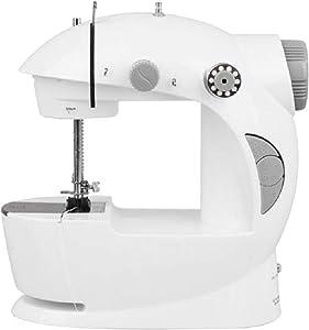 Generic 4 In 1 Basic Stitching Mini Sewing Machine, White
