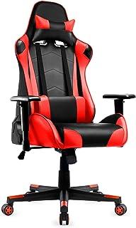IntimaTe WM Heart Sedia Gaming Gioco Ergonomica Reclinabile 135 °Sedia Racing Girevole 360 ° Stile Sportivo Regolabile Sed...