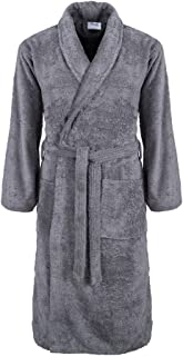Thistle Dressing Gown for Men and Women, Egyptian Cotton, High Absorbency