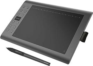GAOMON M106K Tableta Gráfica con 2048 Niveles de Presión 12+16 Teclas de Atajo Portátil para Dibujar/Editar