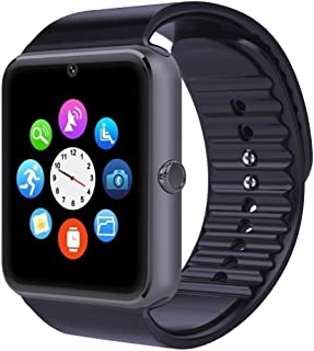 Padgene Fashion NFC Bluetooth GSM Smart Watch with Camera for Samsung S5 / Note 2/3 / 4, Nexus 6, HTC, Sony and Other Android Smartphones, Grey