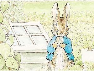 Wee Blue Coo Helen Beatrix Potter Peter Rabbit Unframed Wall Art Print Poster Home Decor Premium