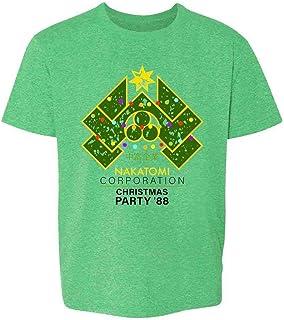 Yippee Ki Yay Now I Have a Machine Gun Nakatomi Youth Kids Girl Boy T-Shirt