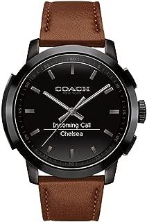 coach mens smart watch