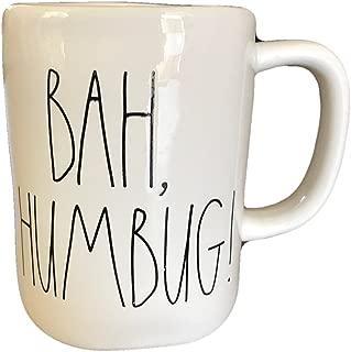 Rae Dunn Magenta Coffee Mug BAH HUMBUG