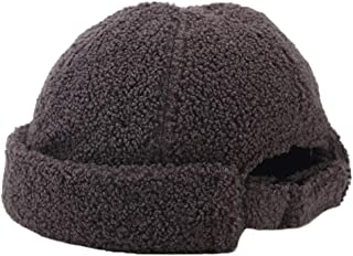 Ez-sofei Winter Unisex Adjustable Rolled Cuff Skull Caps Brimless Beanie Hats for Men/Women