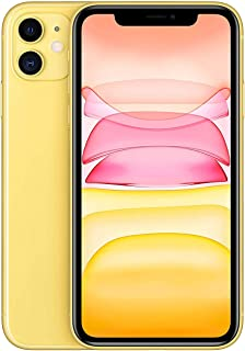Apple iPhone 11 with FaceTime - 128GB, 4G LTE, Yellow - International Version
