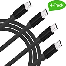 4-Pack Micro Charging Cords 3 Feet USB 3.0 Micro Cable for Samsung Galaxy S7,S6,S5,S4,S3.J7,Note5,Note4,Note3,Note2.A5(2016),A7,A8,A9,C5,C7.LG V40,G4,Q7,LG Stylo3