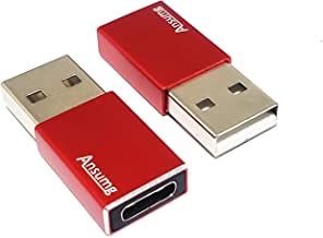Red 3rd Gen USB Data Blocker - Protect Against Juice Jacking,Hack Proof 100/% Guaranteed,Any Other USB Device Charging 2 Pack