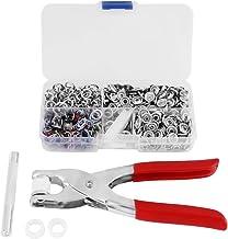 Drukknopen, drukknopen kit, 120 sets Mix kleuren Metalen pennen Drukknopen Bevestigingsmiddelen Drukknopen + tang instelge...
