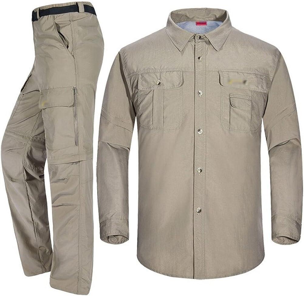 Baymate Hombres Convertibles Secado Rápido Pantalones ...