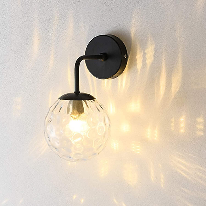 San Antonio Mall QYRKYP Indoor Wall Light E27 Lamp In a popularity Globe Creative Glass