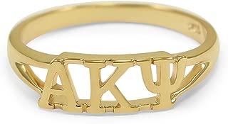 kappa alpha psi fraternity rings