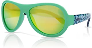 Shadez Boy'S Shz 45 Sunglasses, Green, Medium (Size:8+ Years)