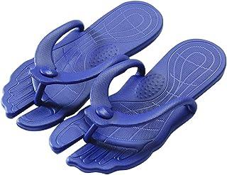 Men Foldable Flip Flops Soft Comfortable Rubber Flip Flop Thong Sandal for Travel Beach XXL