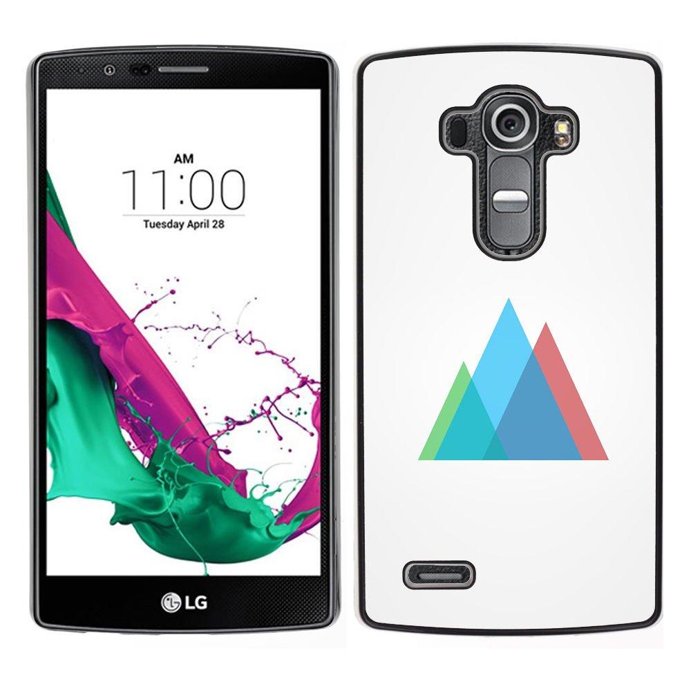 Funda para Smartphone carcasa rígida protectora para LG G4/funda/geometría TECELL Store de luces de colores: Amazon.es: Electrónica