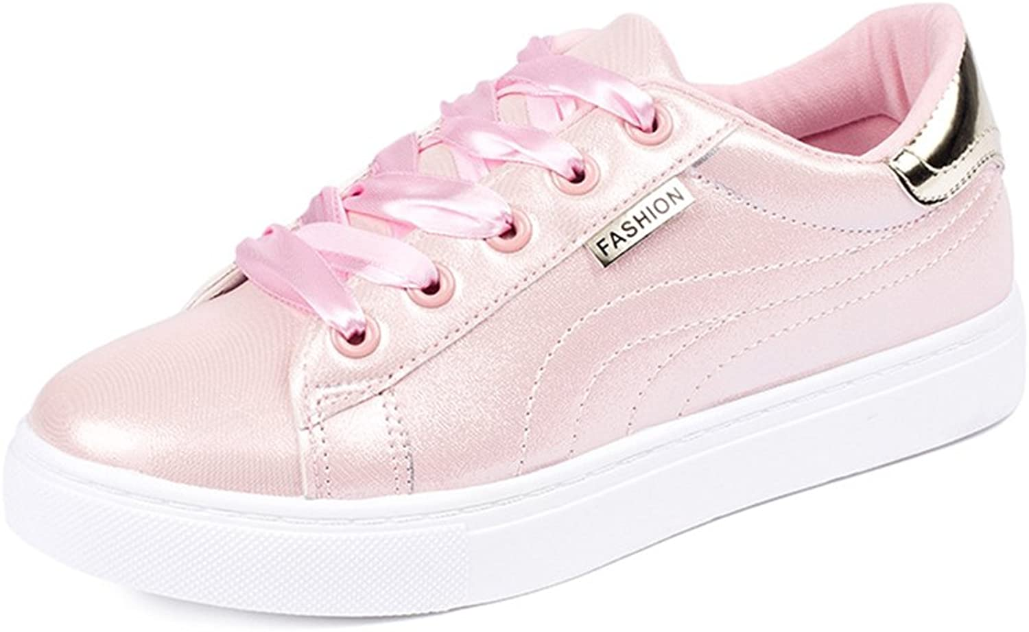SUNNY Store Womens Fashion Canvas Sneakers Low Top Lace Up Walking shoes