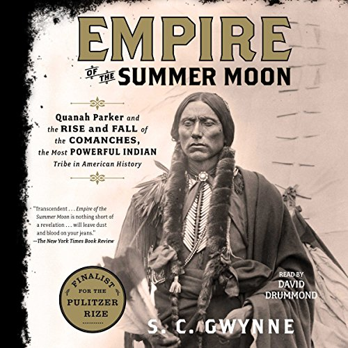 Empire of the Summer Moon audiobook cover art