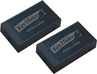Lucky Line Magnetic Key Hider, Extra Large, (2 Pack)
