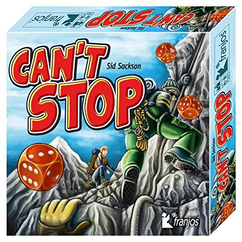 Franjos Würfelspiel Can´t Stop, Ausgabe 2020, moderner Würfelspiel-Klassiker