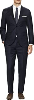 DTI GV Executive Men's Suit Two Button 2 Piece Modern Fit Jacket Pants Birdseye