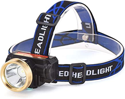 C-Xka Touch Power Zoom Outdoor LED Strong Head Lamp Charging Super Bright Miners Lamp Night Fishing Head-mounted Flashlight