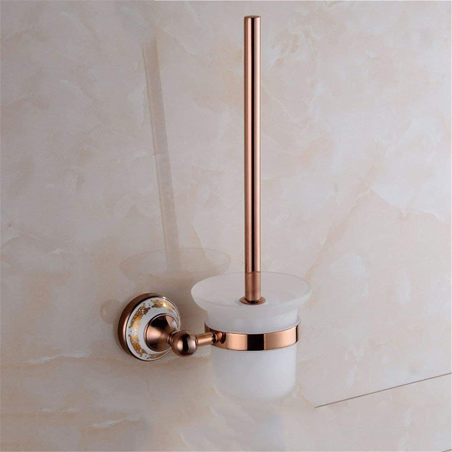 European-Style, gold Ceramic Pink Costume Accessories of Baths Dry-Towels Folding,Toilet Brush