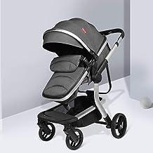 Cochecito ligero, Viaje portátil compacto Silla de paseo antichoque con marco de aluminio para bebés y recién nacidos Silla de paseo con cubierta para pies desde el nacimiento hasta los 3.5 años