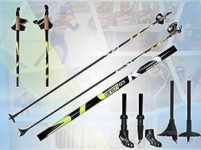 Carbon Langlauf Stock Skistöcke Skating Roller Stöcke Skike NEU 150-170 cm