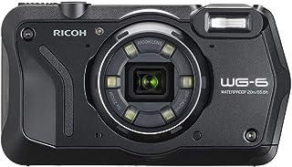 RICOH 防水デジタルカメラ WG-6 ブラック 防水20m 耐ショック2.1m 耐寒-10度 耐荷重100kg リコー WG-6 BK 03841