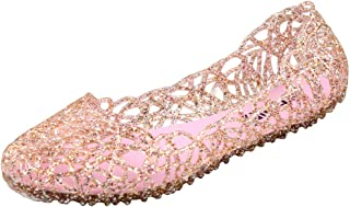 womens pink jelly shoes