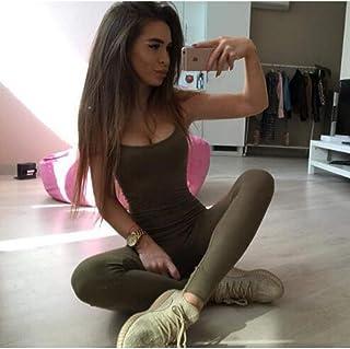 58e720fbf379 WYLYJTZ Pantalones de Yoga Sin Espalda Traje de Ropa de Fitness de una  Pieza de Secado
