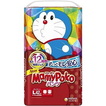 【パンツ Lサイズ】マミーポコ パンツ ドラえもん オムツ (9~14kg)42枚【Amazon.co.jp限定】