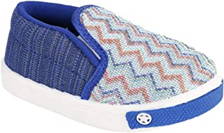 SMARTOTS Kids Canvas Shoes Blue & Brown Age-Group 1.5 Year to 4.5 Year for Boys&Girls