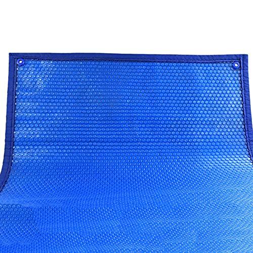 YXX-Lonas Azul Cubierta de piscina solar para piscinas elevadas (Lona de burbujas...