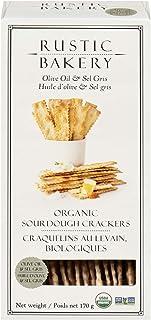 Rustic Bakery Sourdough Flatbread Olive Oil & Sel Gris, 6 oz