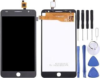 مجموعة كاملة من شاشة LCD ومحول رقمي من Lingland لهاتف Alcatel One Touch Pop Star 3G / 5022 (أسود) الهاتف الخليوي الخلفي يغ...