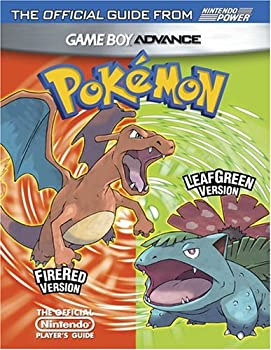Official Nintendo Pokémon FireRed Version & Pokémon LeafGreen Version Player's Guide 193020650X Book Cover