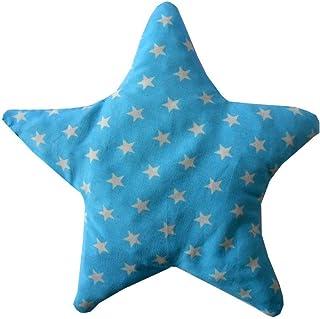 """Cuscino termico di noccioli di ciliegia """"STELLA"""", ideale per neonati e bambini piccoli, trattamento a freddo/calore, 18x18..."""
