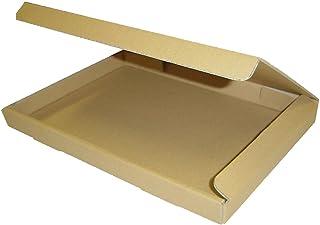 桐パック ダンボール箱ゆうパケット・クリックポスト用(段ボール箱)A4サイズ50枚(外寸:325×240×29mm)(3ミリ厚) post-a4-50