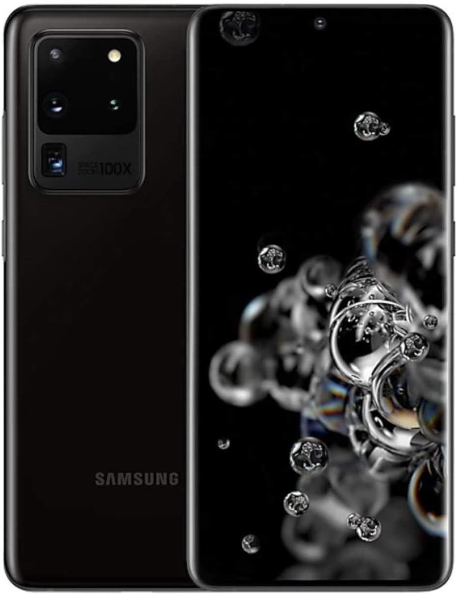 Samsung Galaxy S20 Ultra 5G | SM-G988N 256GB | Factory Unlocked - Korea International Version (Cosmic Gray) | Includes Saru Speaker