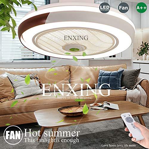Fan Deckenventilator Moderne Fan Deckenleuchte LED Dimmbar Fan Deckenlampe Mit Beleuchtung Lichter Und Fernbedienung Lamp Leise Kreative Kinderzimmer Schlafzimmer Wohnzimmer Beleuchtun Pendelleuchte