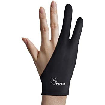Parblo PR-01 Two-Finger Glove for Graphics Drawing Tablet Light Box Tracing Light Pad